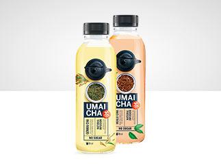 UMAI CHA (genmai + houji)